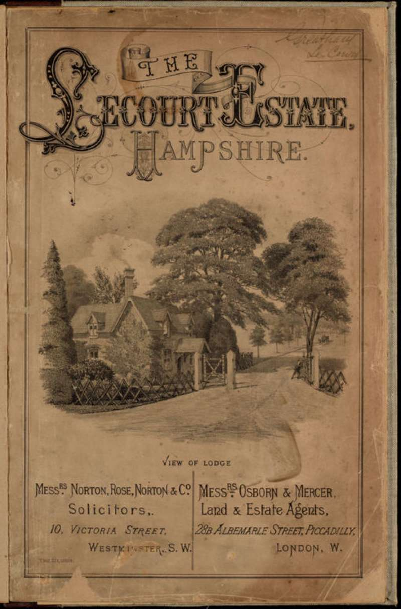 Le Court Sales Brochure 1892