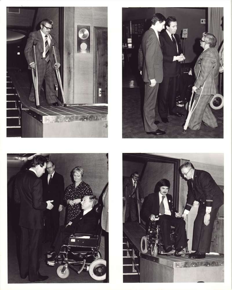 Film premiere with Lord Snowdon