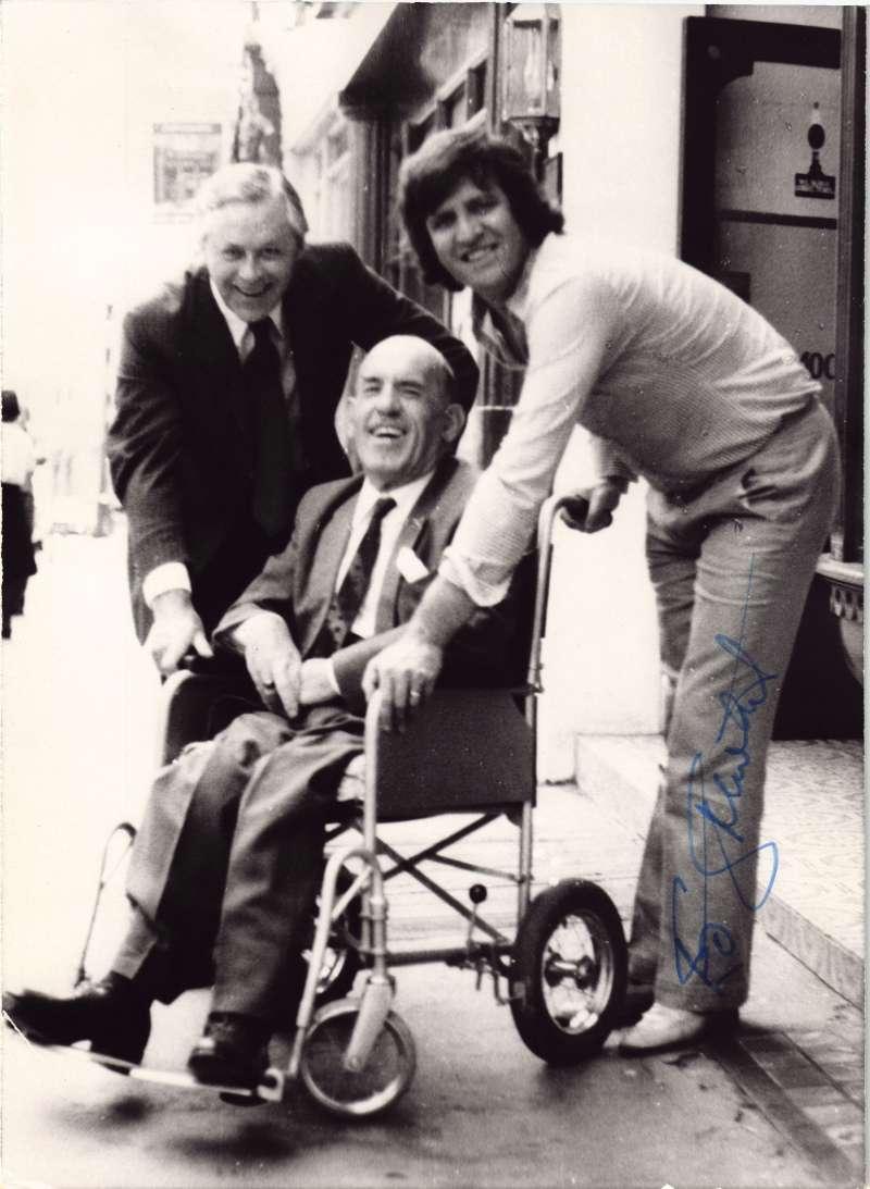 Ed Stewart with Bob