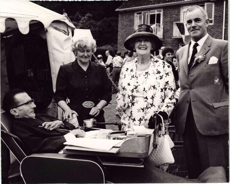 Frank Spath with Dame Sybil Thorndyke