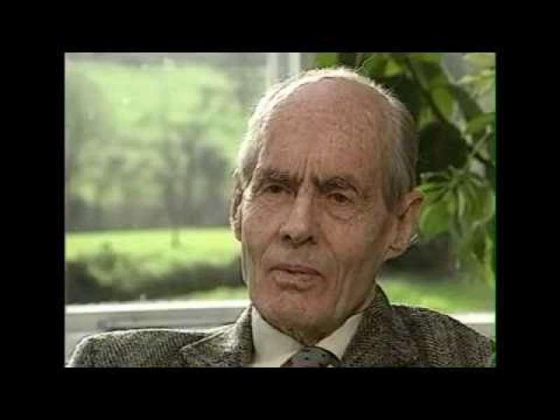Leonard Cheshire interview with Tony Wardle