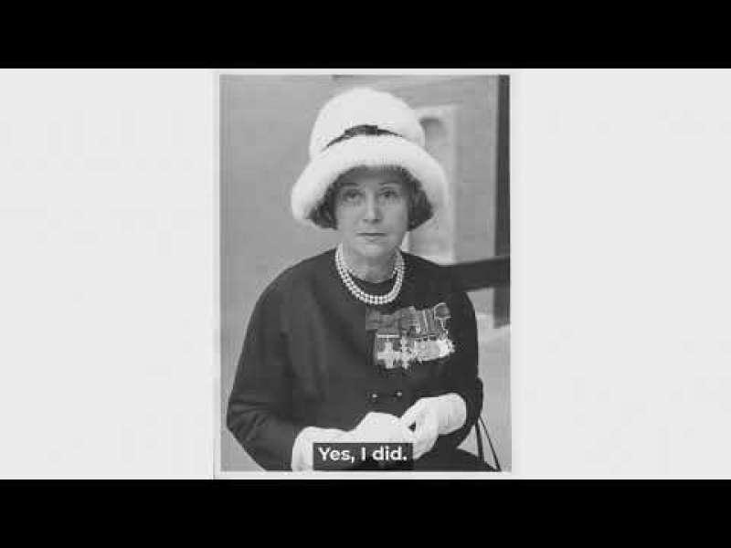 Archive Oral Histories – Leonard Cheshire interviews Odette Hallowes