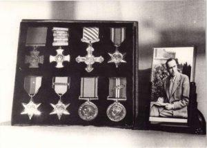 Leonard Cheshire's medals