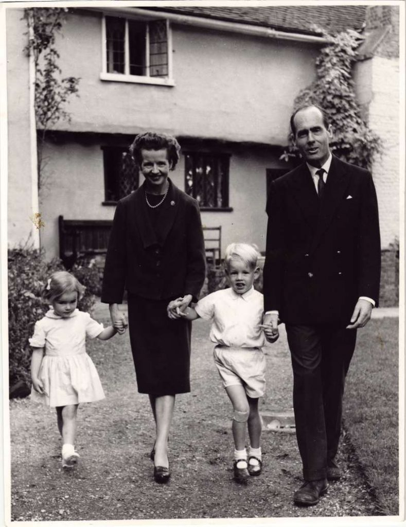 Leonard and Sue with their children