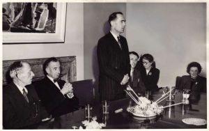 Leonard Cheshire speech accepting the Carnegie gift
